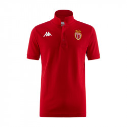 Polo AS Monaco rouge 2019/20