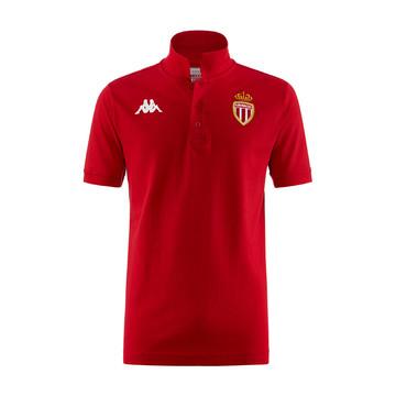 Polo AS Monaco rouge 2019/20