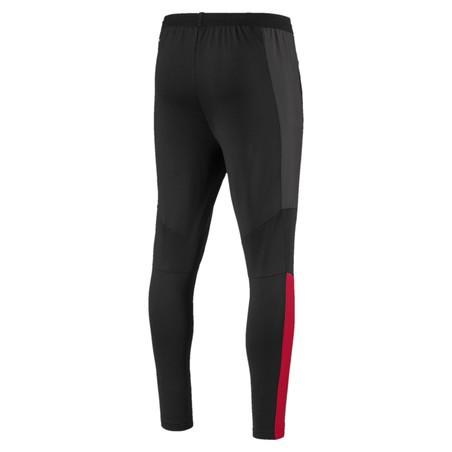 Pantalon entraînement Milan AC noir rouge 2019/20