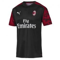 Maillot entraînement junior Milan AC noir 2019/20