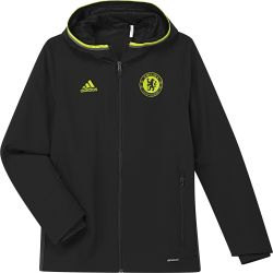 Veste avant-match junior Chelsea noir 2016 - 2017