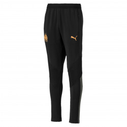 Pantalon entraînement junior OM noir orange 2019/20