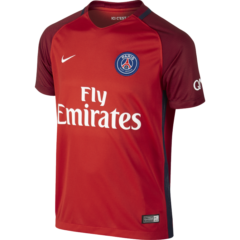 Maillot junior psg ext rieur 2016 2017 sur for Maillot exterieur psg 2016
