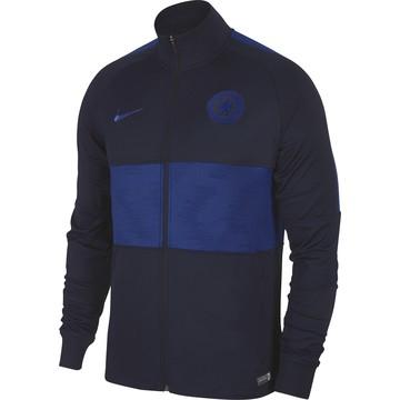 Veste survêtement Chelsea noir bleu 2019/20