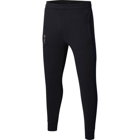 Pantalon survêtement junior PSG Fleece noir 2019/20