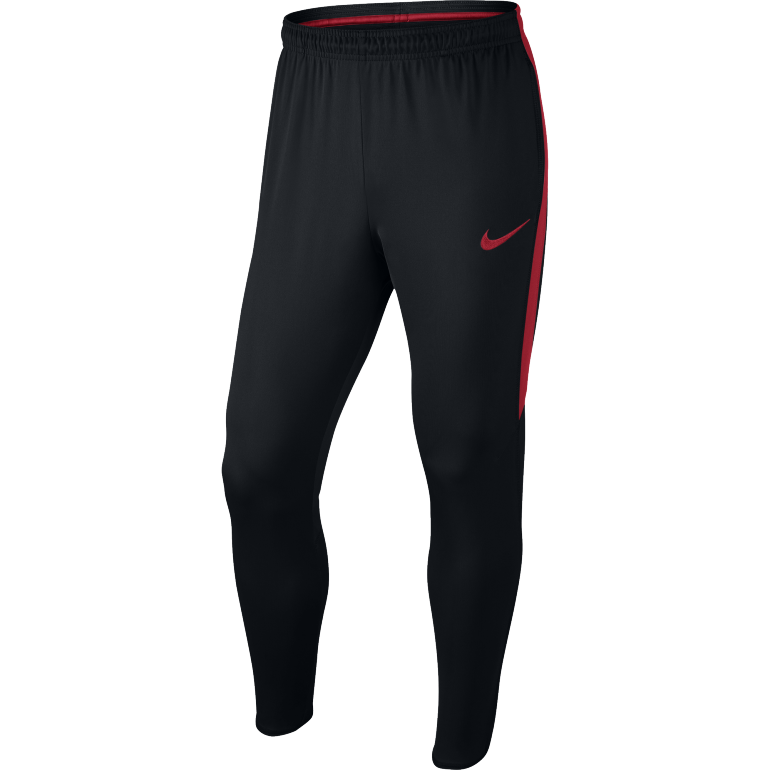 pantalon entra nement football nike dry squad noir et rouge sur. Black Bedroom Furniture Sets. Home Design Ideas