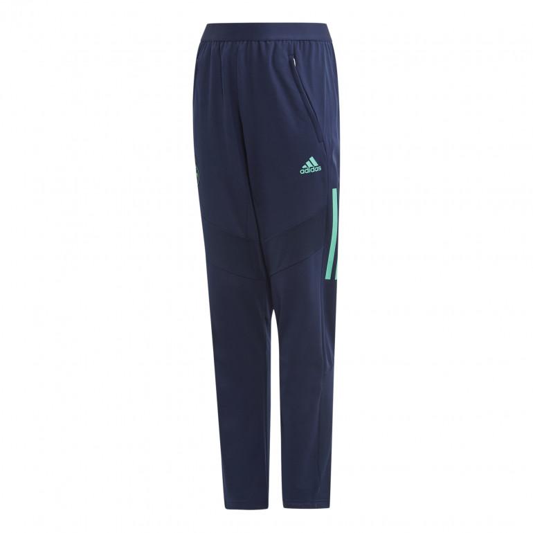 Pantalon entraînement junior Real Madrid bleu vert 2019/20