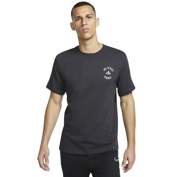 """T-shirt PSG """"Ici c'est Paris"""" noir 2019/20"""
