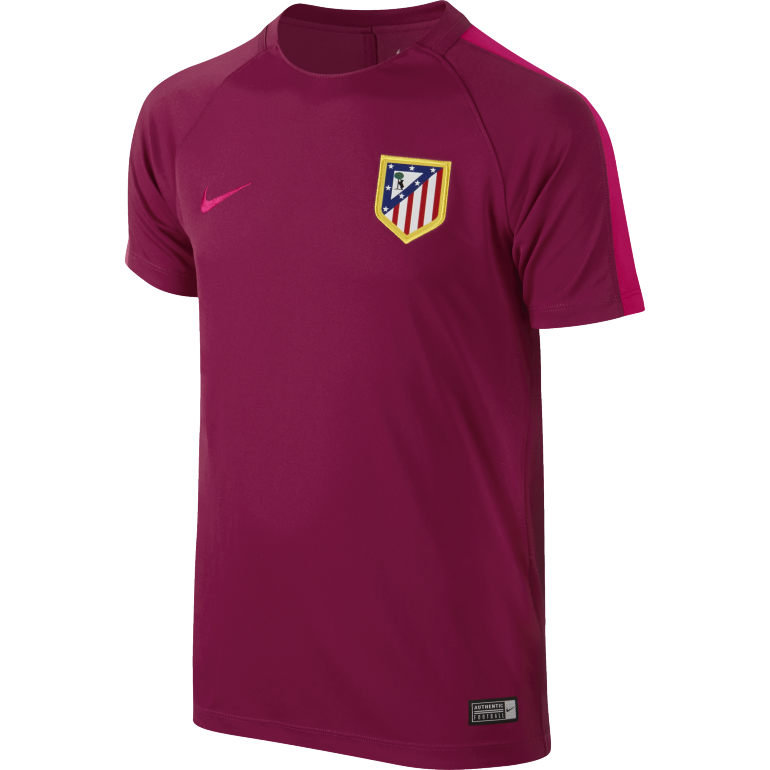 Maillot Entraînement Junior Atlético Madrid rouge 2016 - 2017