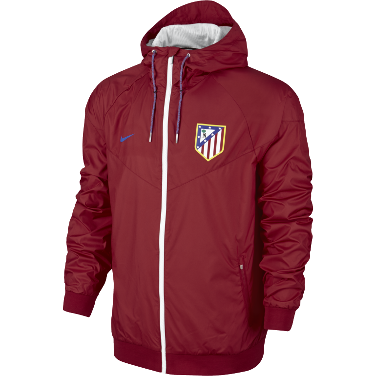 Coupe-Vent Atlético Madrid rouge