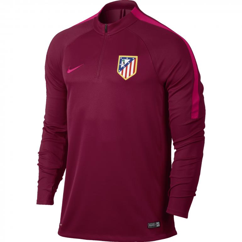 Drill Top Entraînement Atlético Madrid rouge 2016 - 2017