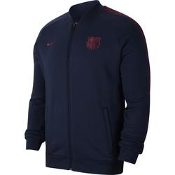 Veste survêtement FC Barcelone GFA bleu rouge 2019/20