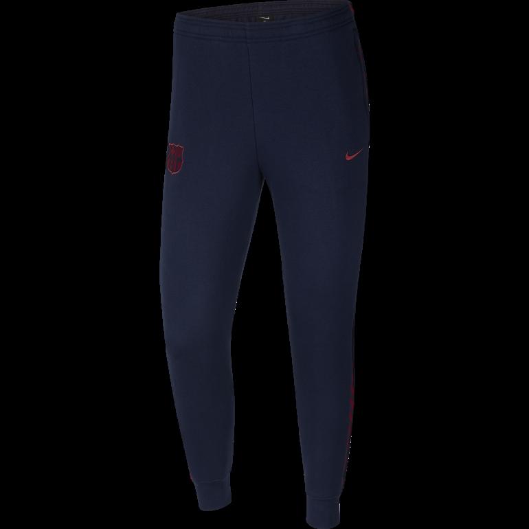 Pantalon survêtement FC Barcelone GFA Fleece bleu rouge 2019/20
