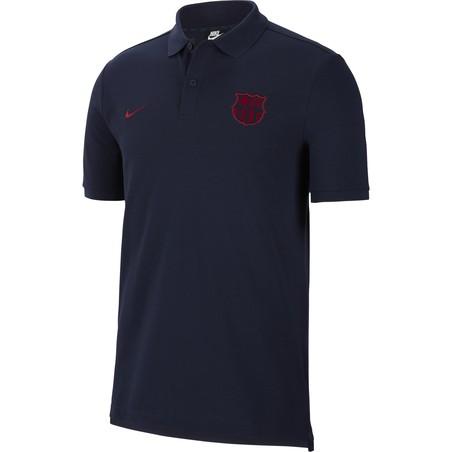 Polo FC Barcelone bleu foncé 2019/20