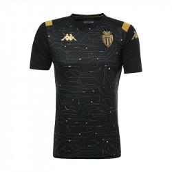 Maillot entraînement junior AS Monaco noir or 2019/20