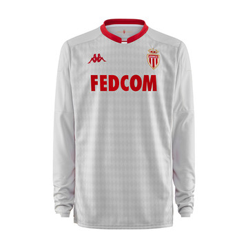 Maillot gardien AS Monaco blanc rouge 2019/20