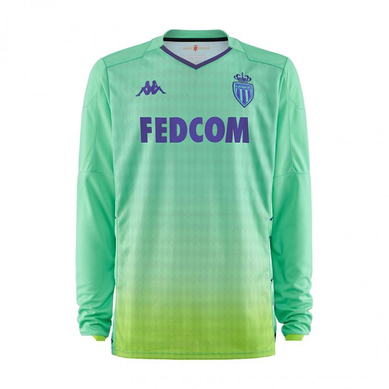 pas mal c6383 1915d Maillot gardien AS Monaco vert 2019/20