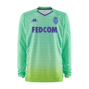 Maillot gardien junior AS Monaco vert 2019/20