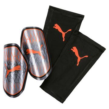 Protège tibias Puma 19.3 orange gris 2019/20