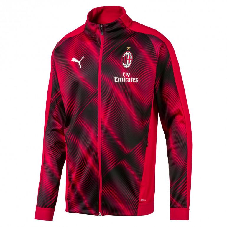 Veste survêtement Milan AC rouge graphic 2019/20