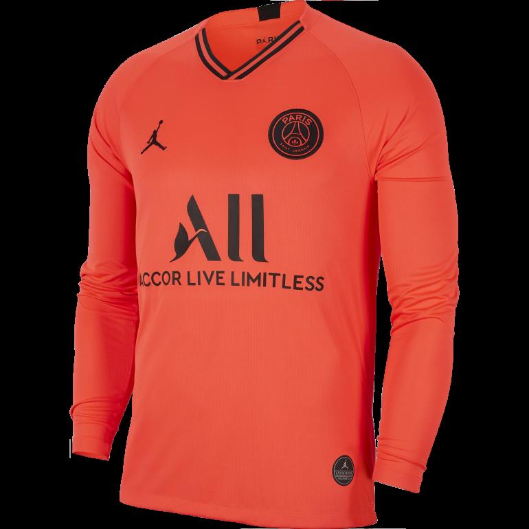 Maillot manches longues PSG Jordan extérieur 2019/20