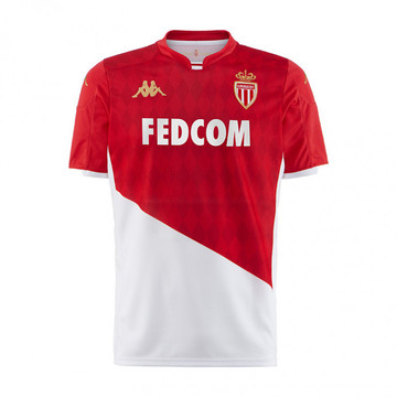 Maillot junior AS Monaco domicile 2019/20