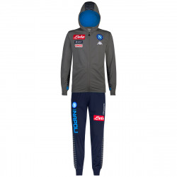 Ensemble survêtement junior Naples gris bleu 2019/20