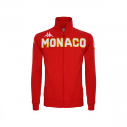 Veste survêtement junior AS Monaco rouge 2019/20
