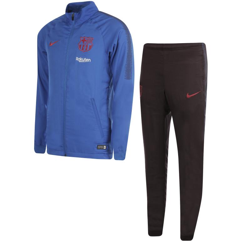 Ensemble survêtement FC Barcelone micro fibre bleu 2019/20