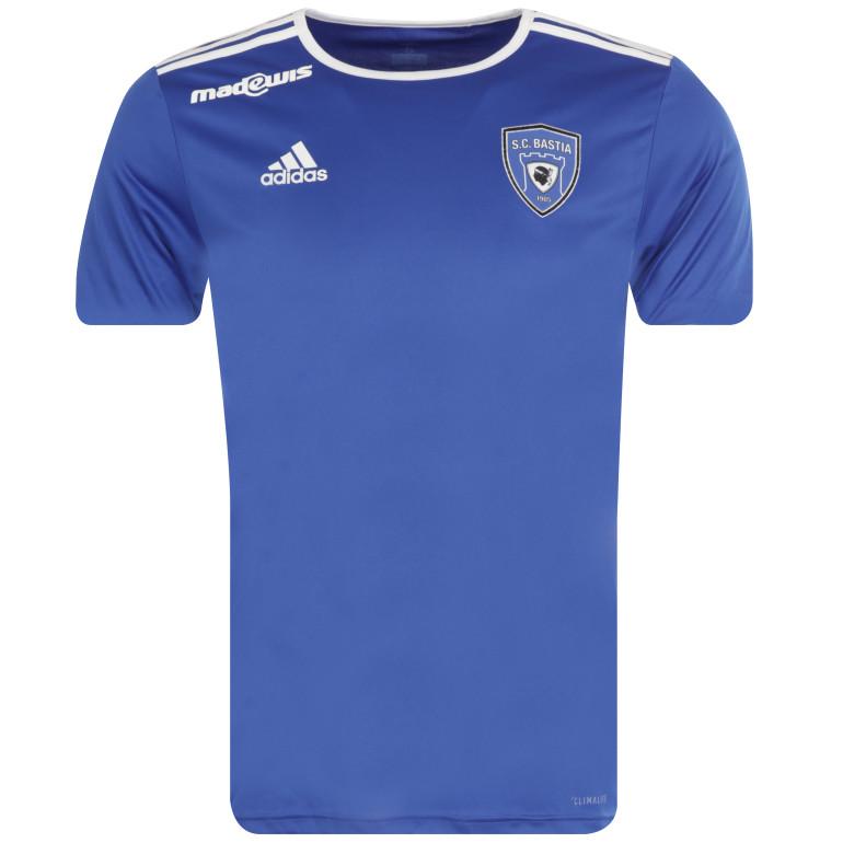 Maillot entraînement Bastia bleu 2019/20
