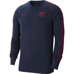 Sweat FC Barcelone GFA Fleece bleu 2019/20