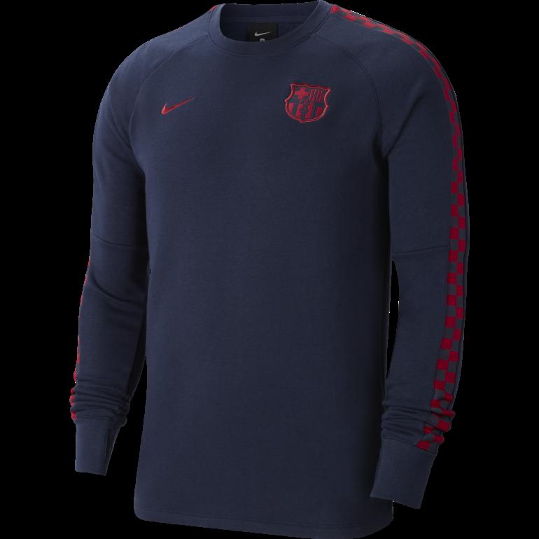 Sweat FC Barcelone GFA Fleece bleu 2019/20