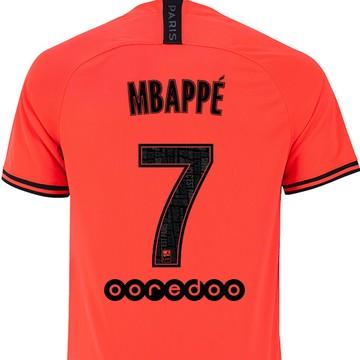 Maillot Mbappé PSG Jordan extérieur 2019/20