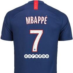 Maillot Mbappé PSG domicile 2019/20