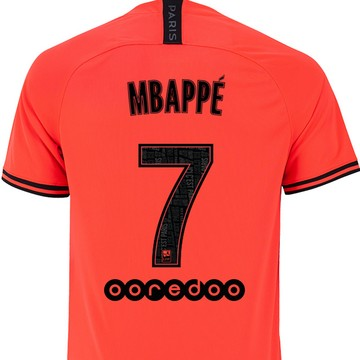 Maillot junior Mbappé PSG Jordan extérieur 2019/20