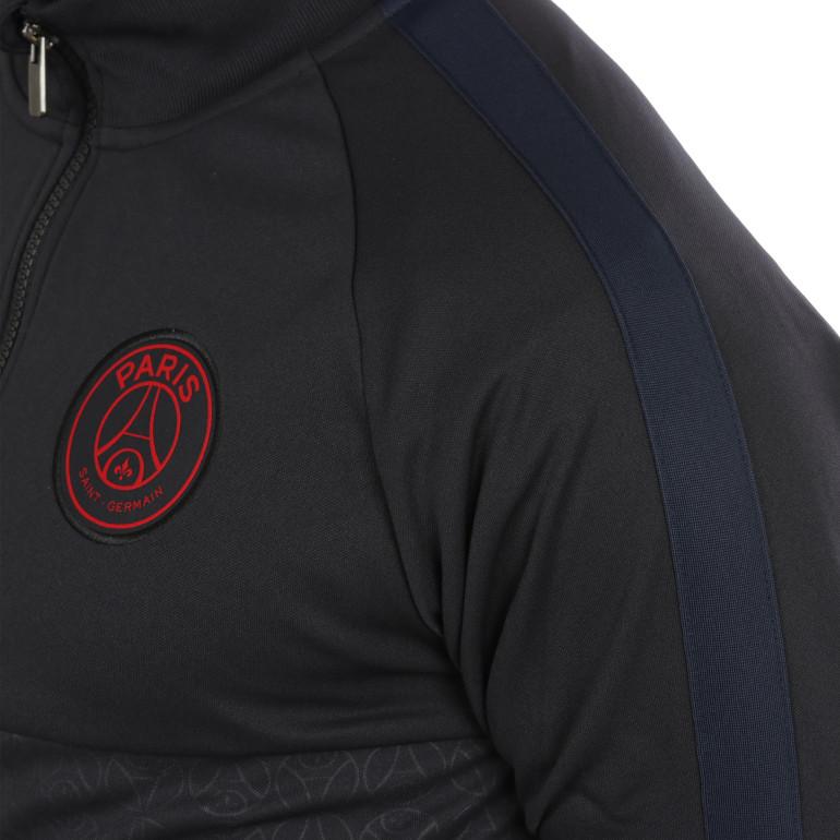 Veste survêtement PSG I96 noir rouge 201920