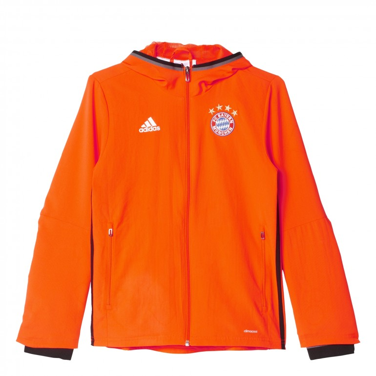 Veste Bayern Munich avant-match junior 2016 - 2017