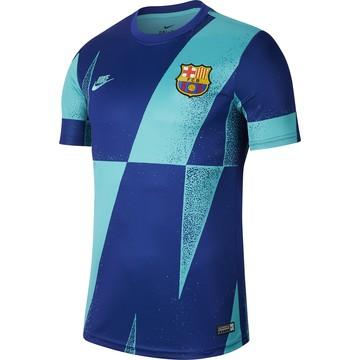 Maillot avant match FC Barcelone bleu 2019/20