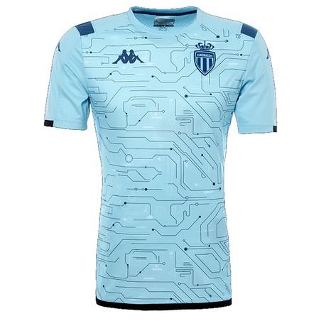 Maillot entraînement junior AS Monaco bleu 2019/20