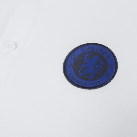 Polo Chelsea Authentique blanc 2019/20