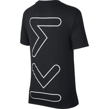 T-shirt junior Mbappé noir 2019/20