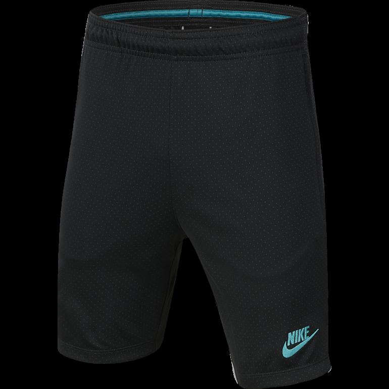 Short entraînement junior FC Barcelone noir vert 2019/20