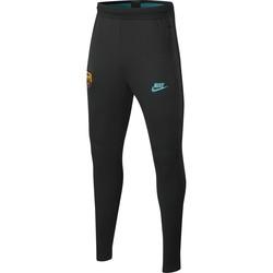 Pantalon survêtement junior FC Barcelone noir vert 2019/20