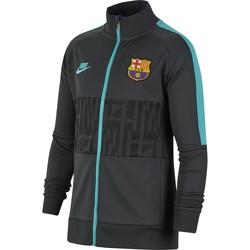 Veste survêtement junior FC Barcelone I96 noir vert 2019/20