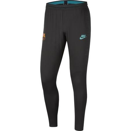 Pantalon survêtement FC Barcelone VaporKnit noir vert 2019/20