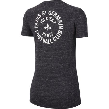 T-shirt Femme PSG gris 2019/20
