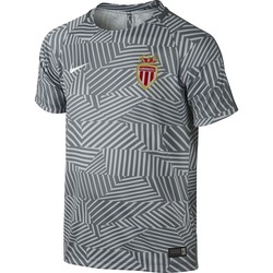 Maillot Avant Match Junior AS Monaco gris 2016 - 2017