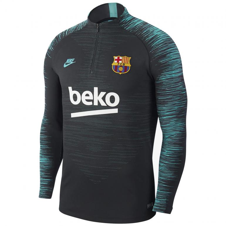 Sweat zippé FC Barcelone VaporKnit vert 2019/20