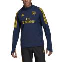Sweat zippé entraînement Arsenal bleu 2019/20