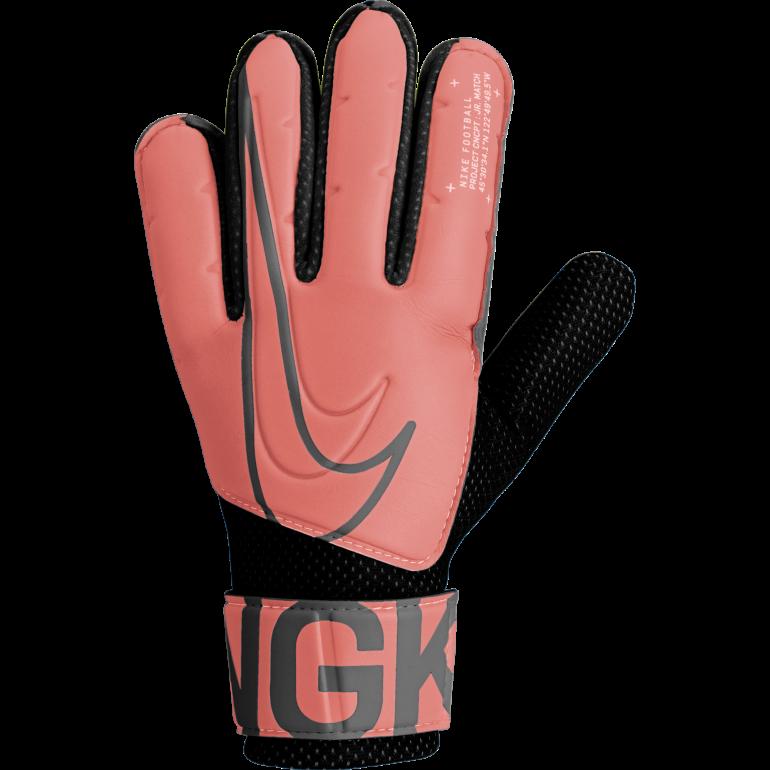 Gants gardien junior Nike Match rose noir 2019/20